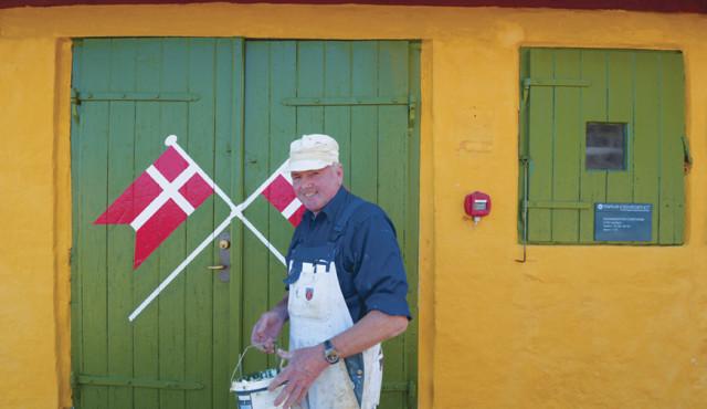 Professionel håndværker med forstand på historiske huse
